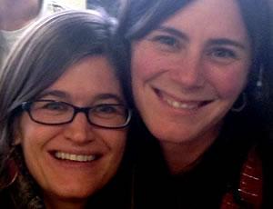 ILC Staff Kim Odell & Sara Mounsey