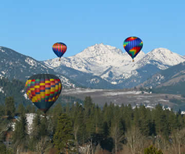 Methow Valley Hot Air Ballons