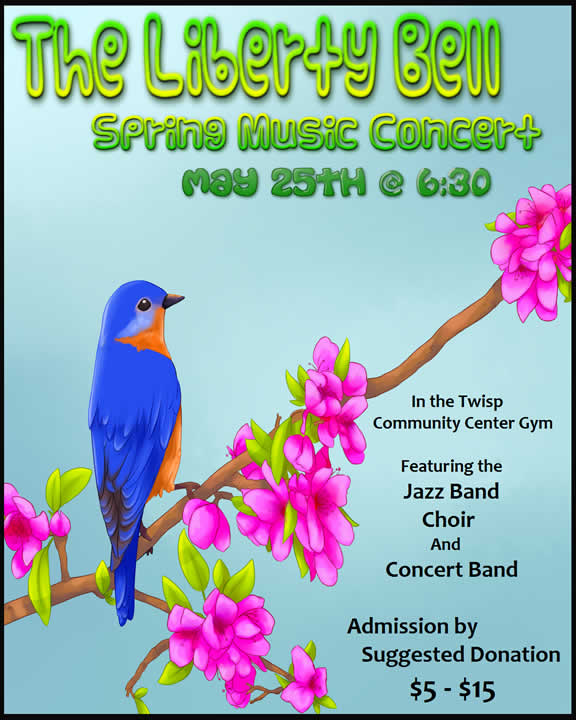 Liberty Bell Spring Music Concert, May 25, 2016