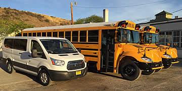 MVSD Transportation - New Buses & Van