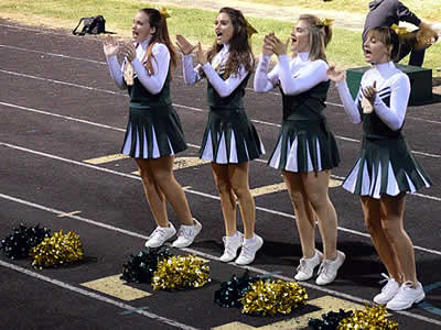 Liberty Bell High School Cheerleaders