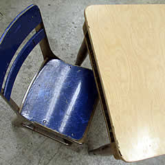 Old Liberty Bell High School furniture