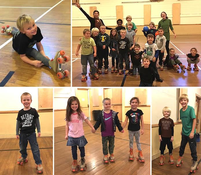 MVE After School Childcare Roller Skating
