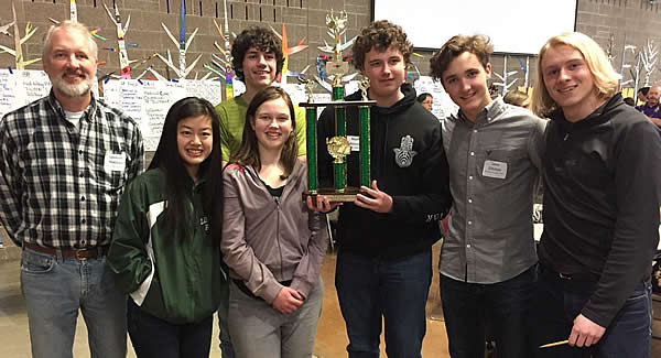 2018 Liberty Bell Knowledge Bowl Team