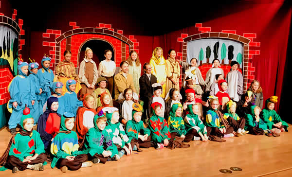 Missoula Children's Theater Cast