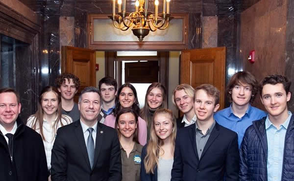 MVSD Students in Olympia - Climate Change