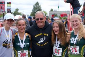 Liberty Bell Athletes and Coach
