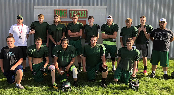2019 LBHS Boys Football Team