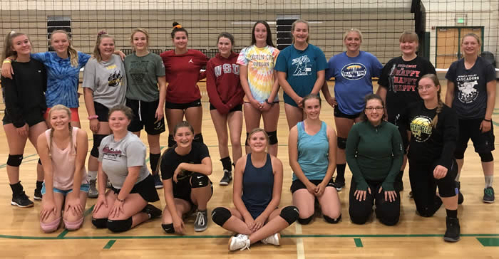 2019 LBHS Girls Volleyball Team