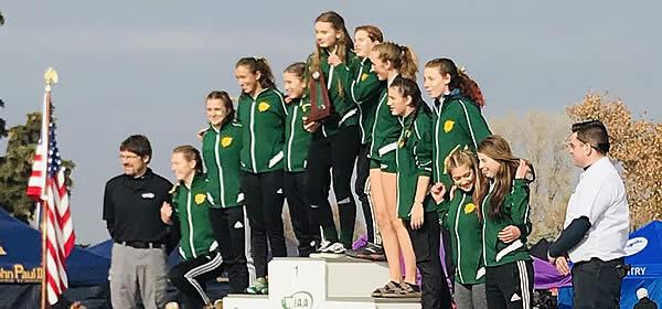 LBHS Cross-Country Girls WIAA Championship Meet