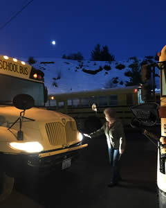 MVSD Bus Drive and Bus