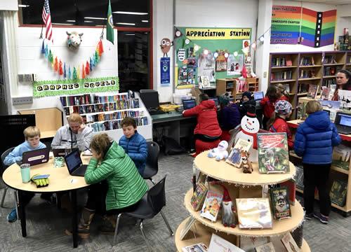 MVE Library • Children Learning