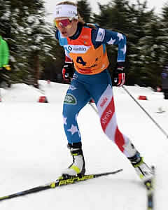 Novie McCabe - Junior World Nordic Race