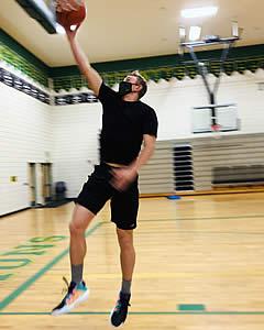 LB Basketball Player