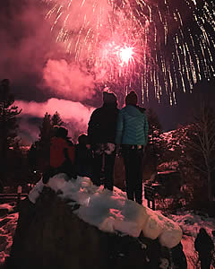 Methow Valley Winter Fireworks