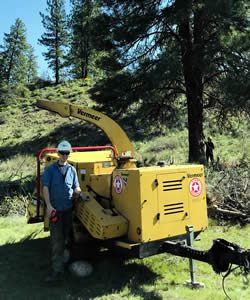 Prescribed burn staff and equipment