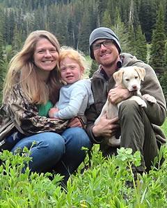 New MVE teacher Jake Wicken and family