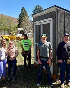 LBHS Design Construction Program - Garden Shed