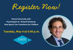 Parent University present Dr. Richard Ginsburg