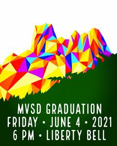 2021 MVSD Graduation Day Banner