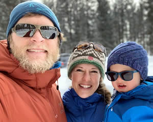 Emily Nilson and family