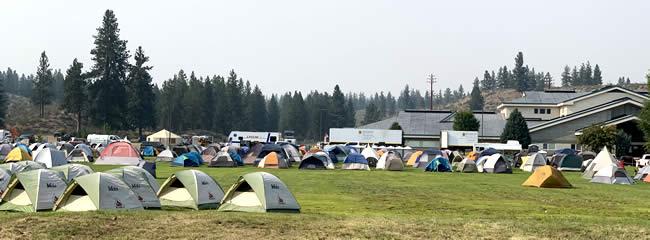 Fire Camp at MVSD